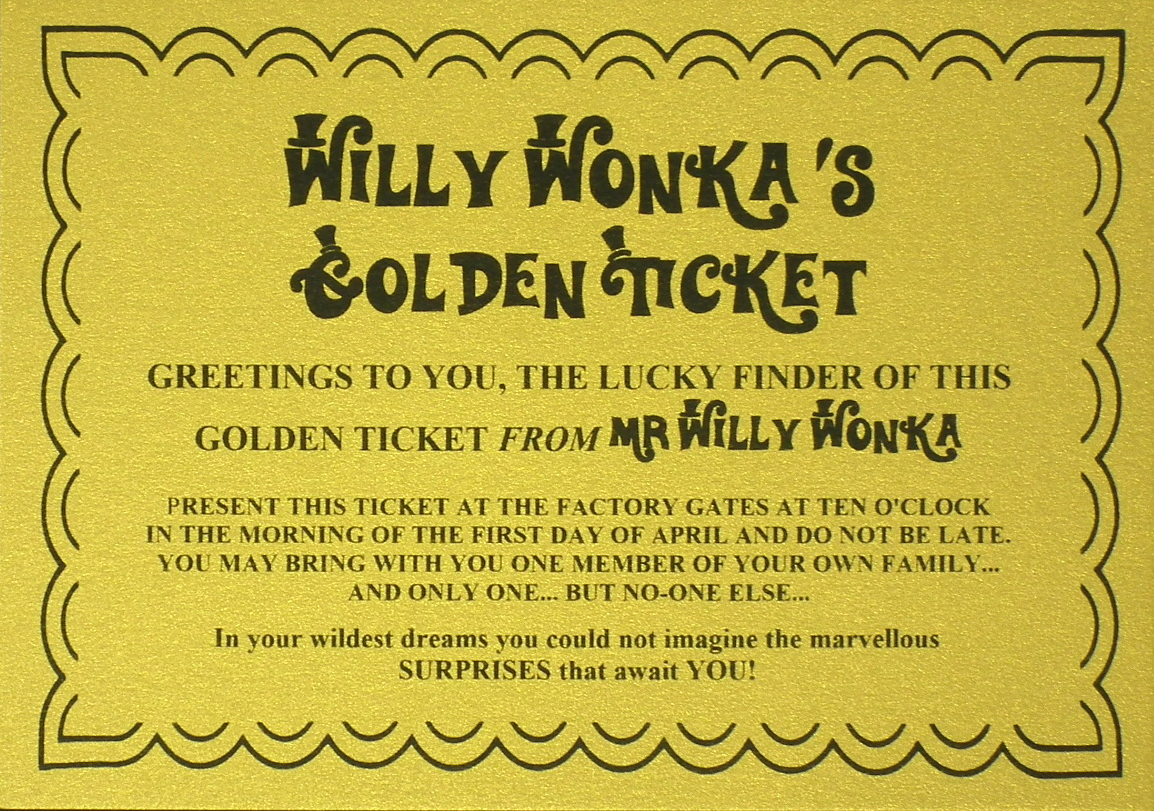 Silver & Golden Tickets